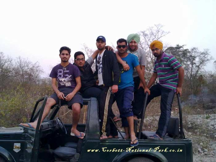 Jeep Safari Corbett National Park